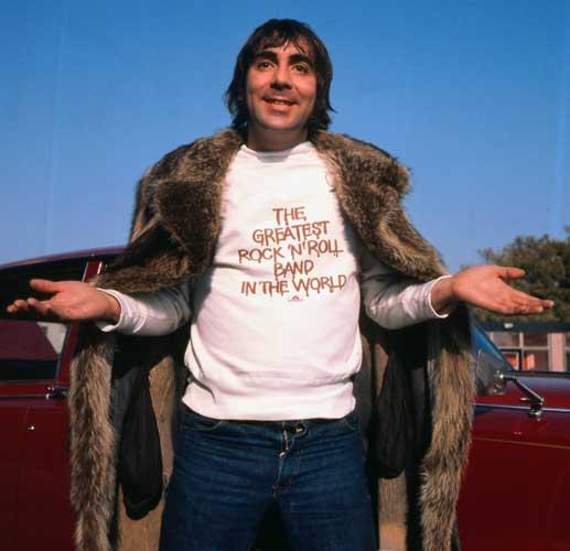 You traveled into a worm hole through space and time and all you brought back was Keith Moon?