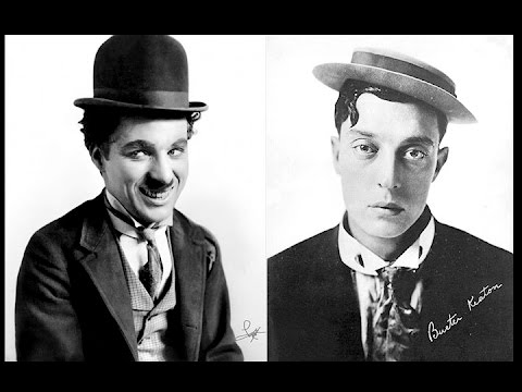 Charlie Chaplin and BusterKeaton
