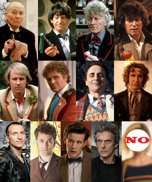 Doctor Who…NOT Miss WHO