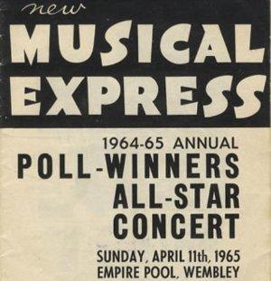 New Musical Express Winners 1965Concert