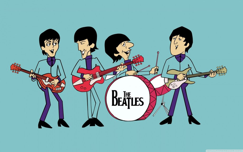 The Beatle Cartoon Series