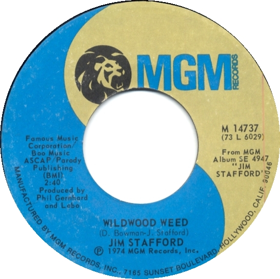 A Novelty Song from the 70s – WildwoodWeed