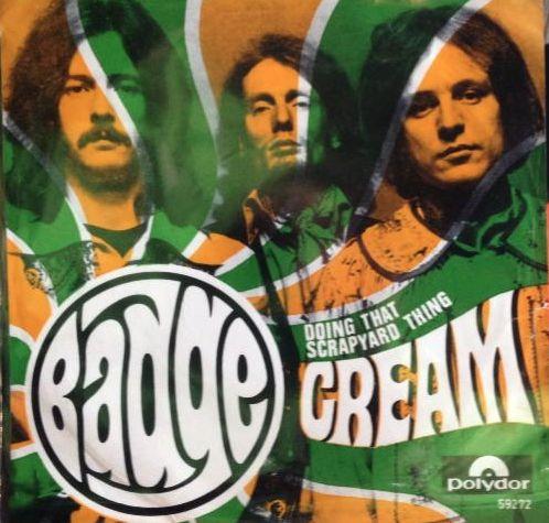 Cream – Badge – PowerPop… An Eclectic Collection of Pop Culture
