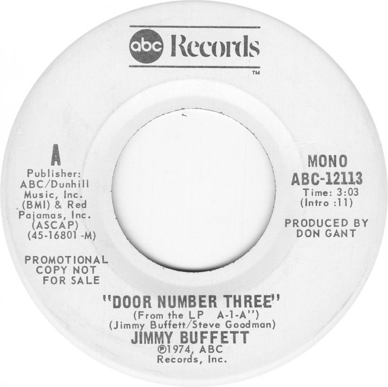 Jimmy Buffett – Door Number Three