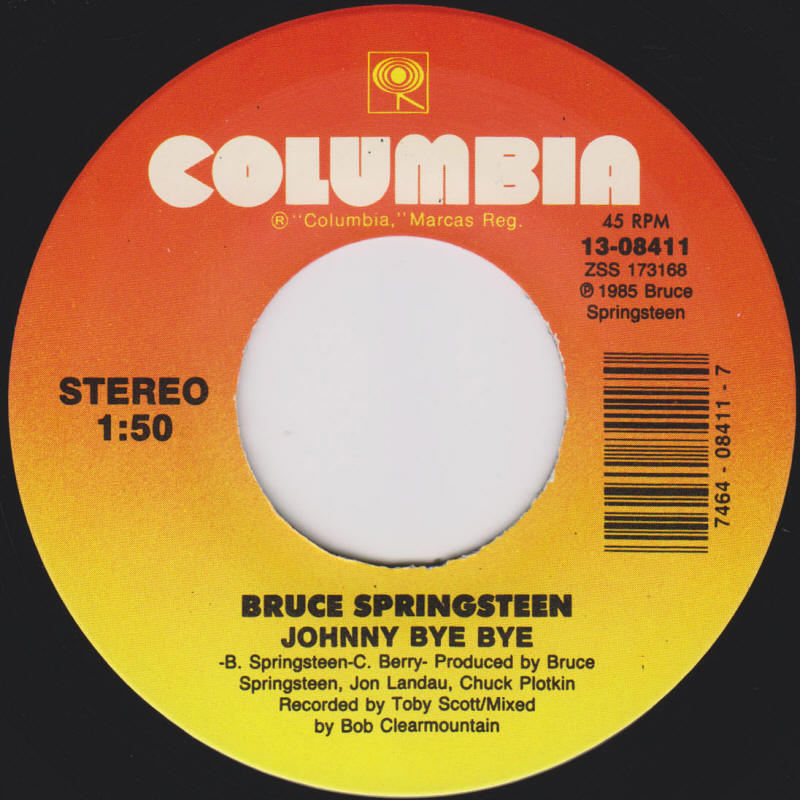 Bruce Springsteen – Johnny Bye Bye