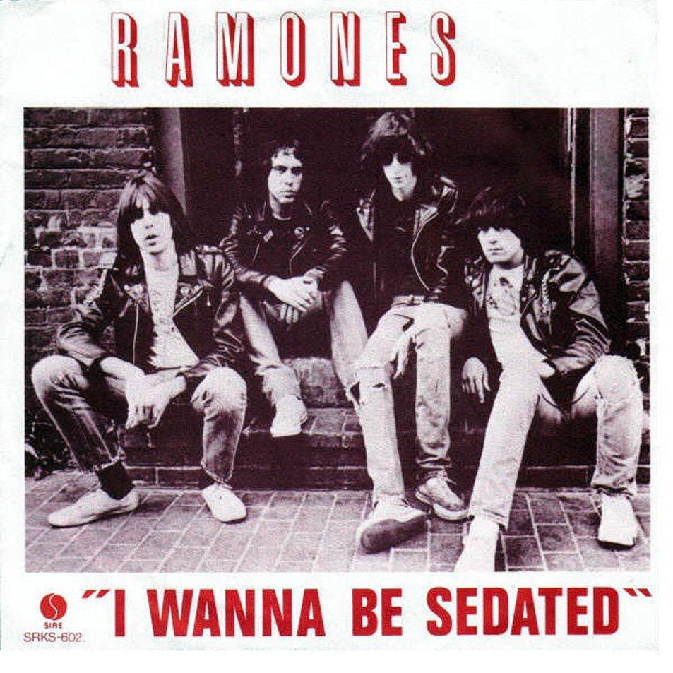 The Ramones – I Wanna BeSedated