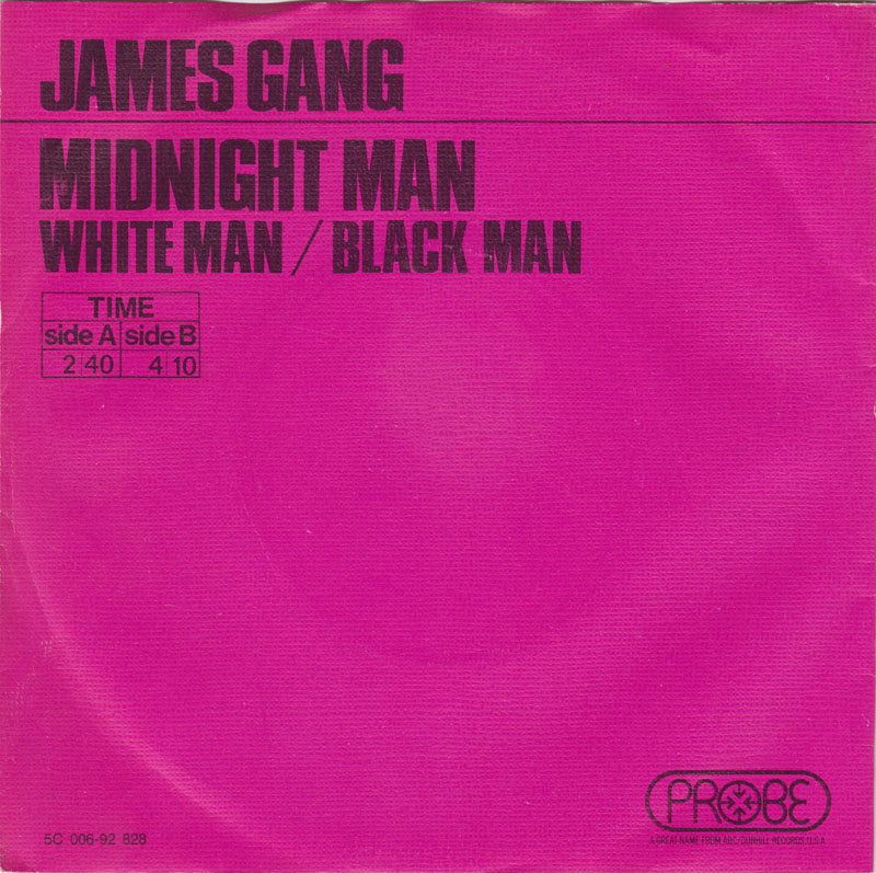 The James Gang – Midnight Man
