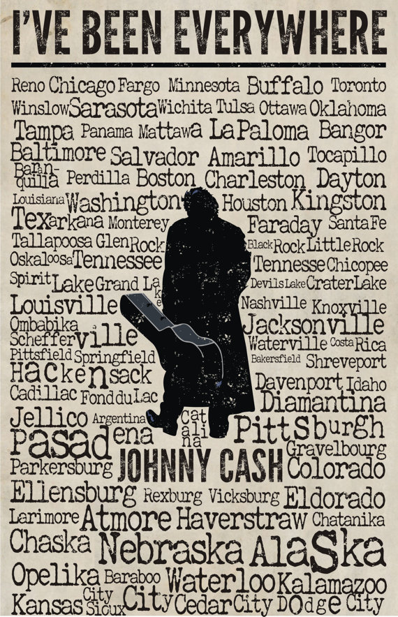 Johnny Cash – I've Been Everywhere