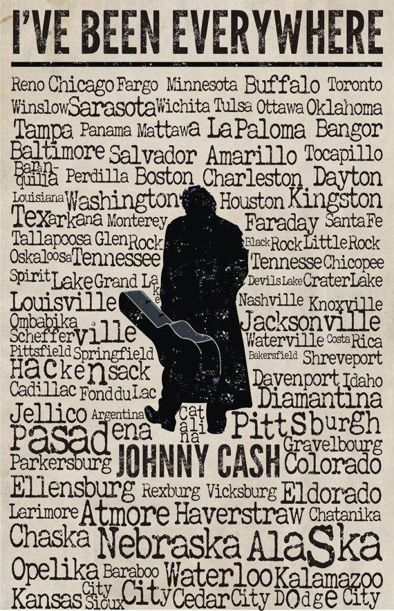 Johnny Cash – I've BeenEverywhere