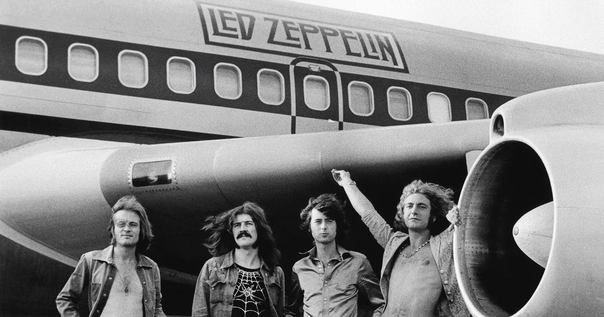 Led Zeppelin's Ascent and Descent