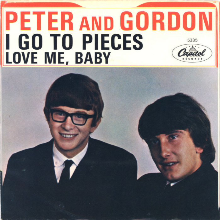 Peter and Gordon – I Go toPieces