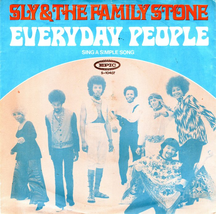 Sly & the Family Stone – EverydayPeople