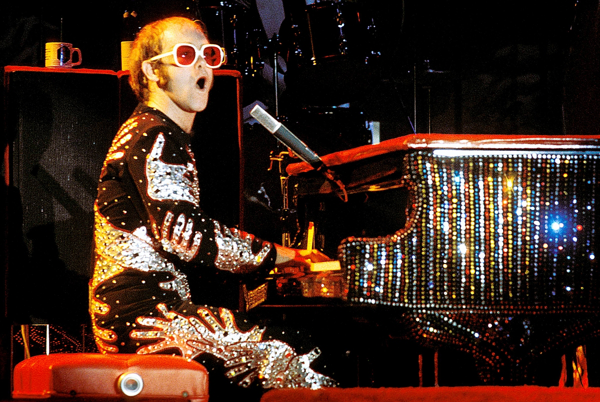 Thoughts on Elton John in the 70s