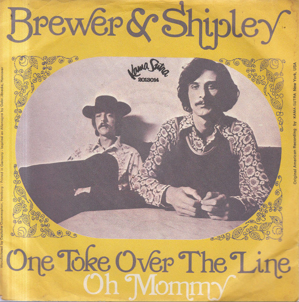 Brewer & Shipley – One Toke Over the Line…and anotherversion