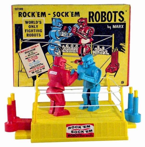 Image result for rock n sock em game