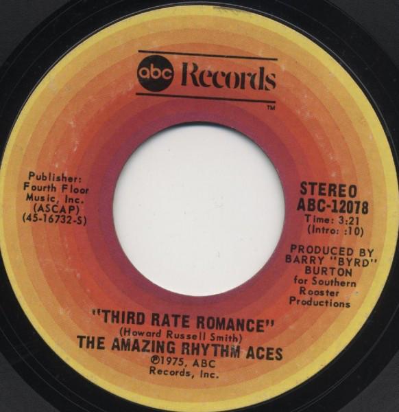 Amazing Rhythm Aces – Third RateRomance