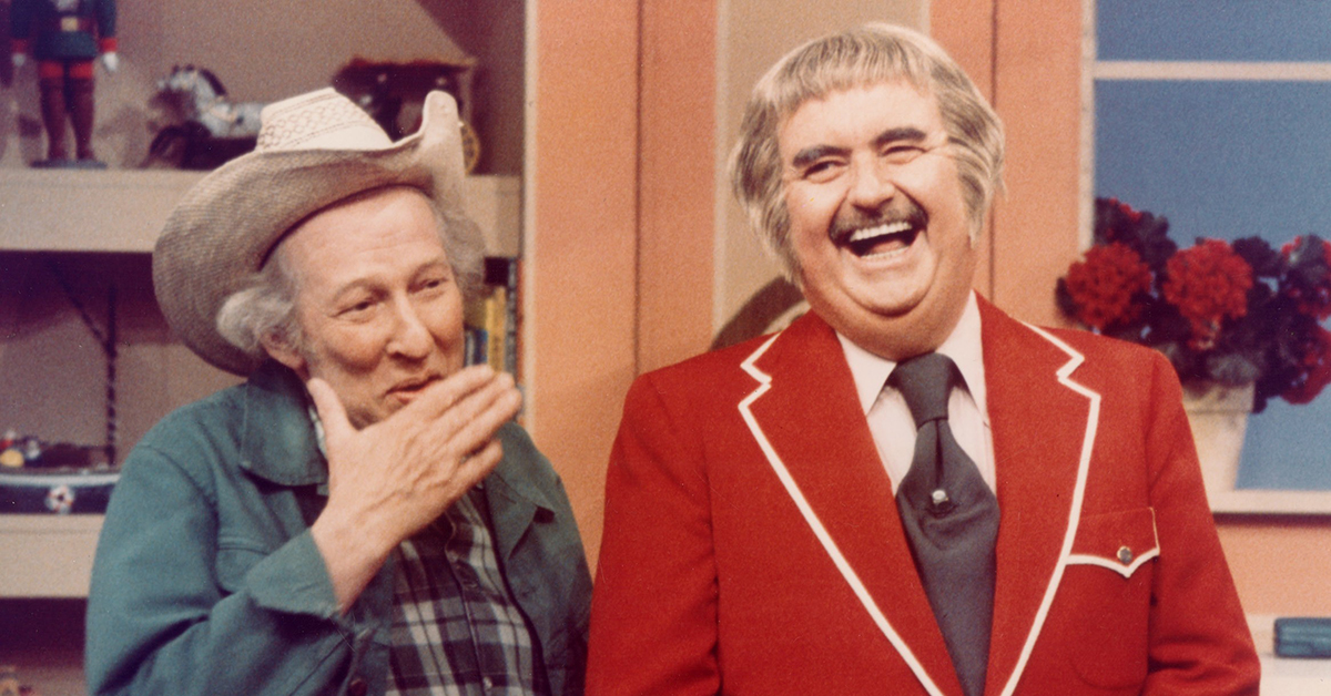 A Quick visit to Captain Kangaroo