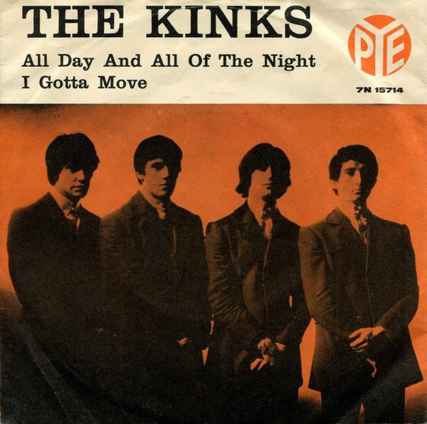 Kinks – All Day and All of the Night