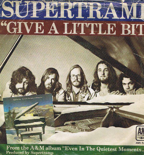 Supertramp – Give a LittleBit