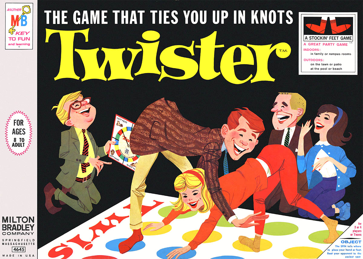Twister…with help from Johnny Carson