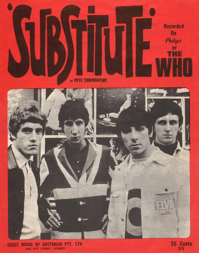 The Who –Substitute