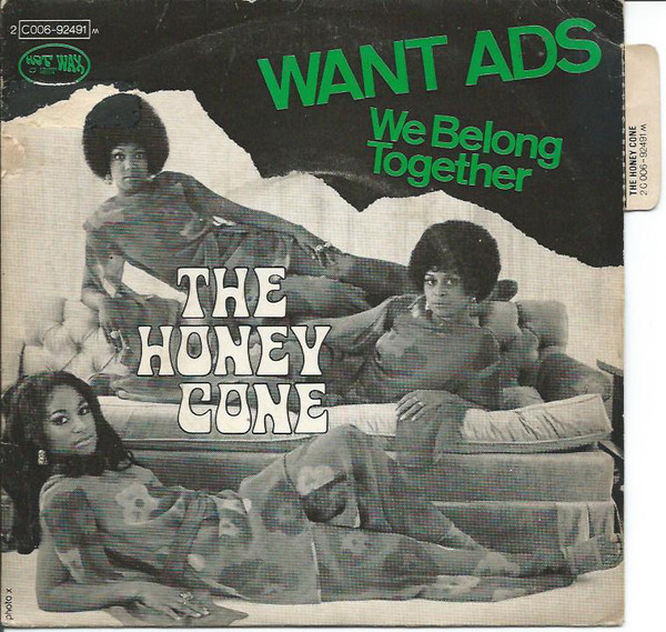 The Honey Cone – Want Ads – PowerPop… An Eclectic Collection of Pop Culture