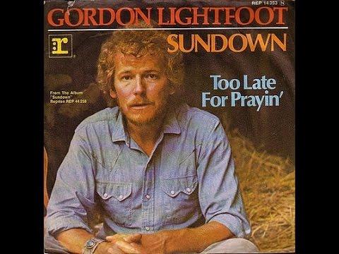 Gordon Lightfoot –Sundown