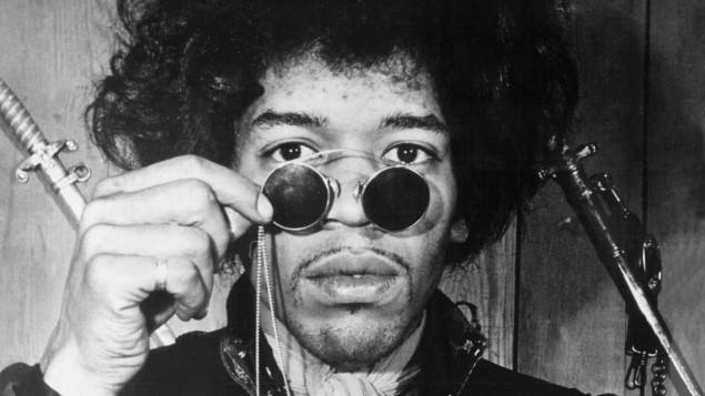 Jimi Hendrix – Castles Made OfSand