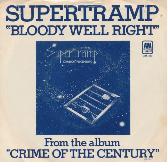 Supertramp – Bloody WellRight