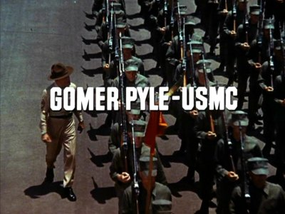A quick look at Gomer Pyle USMC and FrankSutton