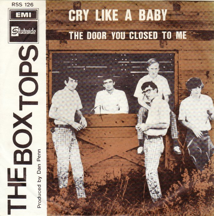 The Box Tops – Cry Like A Baby