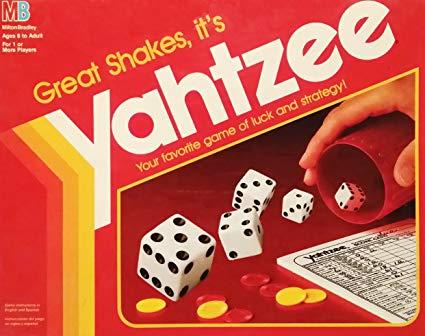 Yahtzee History