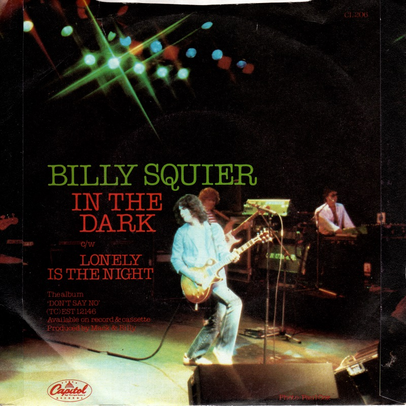 Billy Squier – Lonely Is TheNight