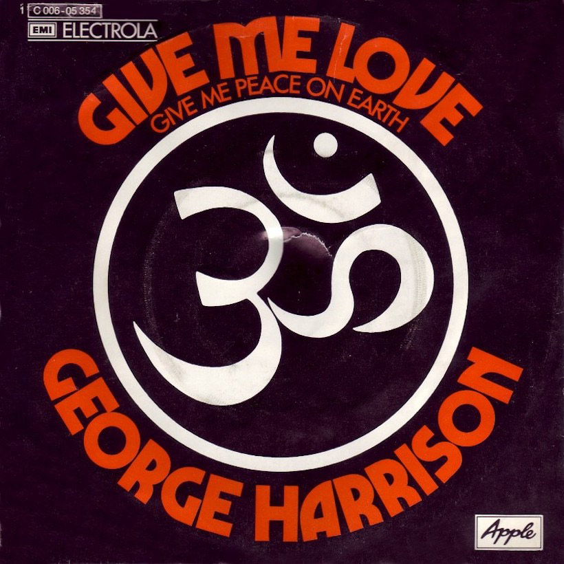 George Harrison – Give Me Love (Give Me Peace OnEarth)