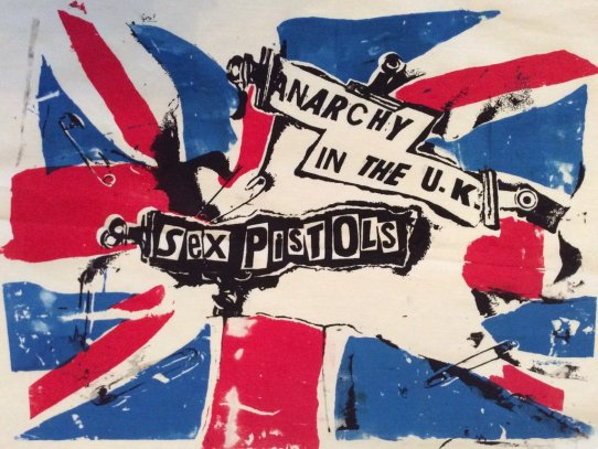 Image result for anarchy in the uk sex pistols single images