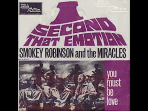 Smokey Robinson & the Miracles – I Second That Emotion