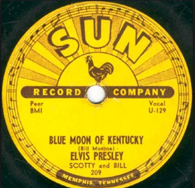 Elvis Presley – Blue Moon Of Kentucky