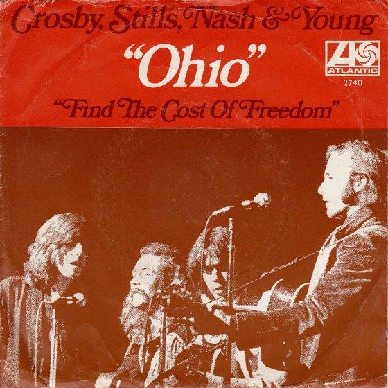 CSN&Y – Ohio  ——— Songs that reference RichardNixon