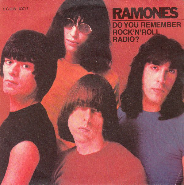 Ramones – Do You Remember Rock 'n' Roll Radio?  ——— Songs that reference The Beatles