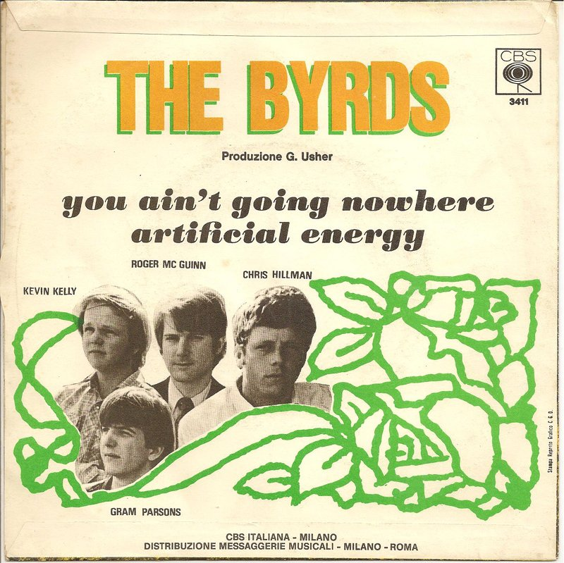 Byrds – You Ain't Going Nowhere