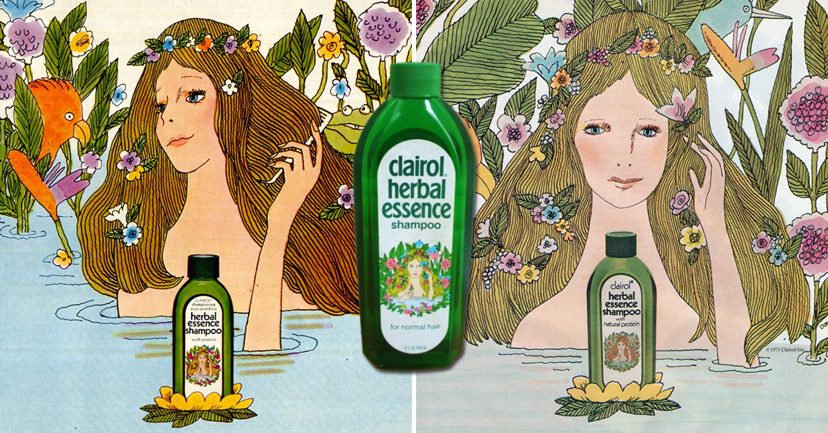 Clairol Herbal Essence ShampooCommercial