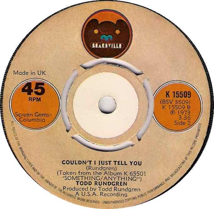 Todd Rundgren – Couldn't I Just Tell You —PowerpopFriday