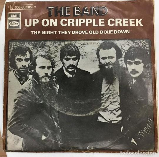 Image result for the band up on cripple creek single images
