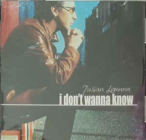 Julian Lennon – I Don't Wanna Know    —-Powerpop Friday