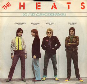 The Heats – I Don't Like Your Face / Ordinary People    —-Powerpop Friday
