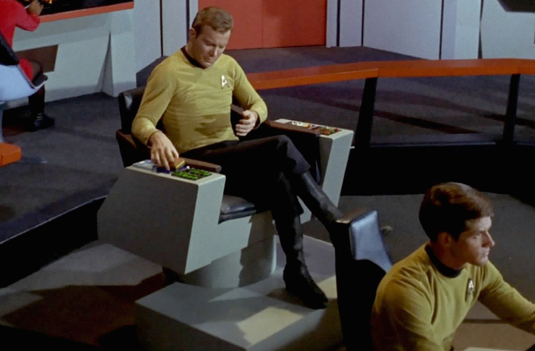 Where is…Captain Kirk's original Command Chair?