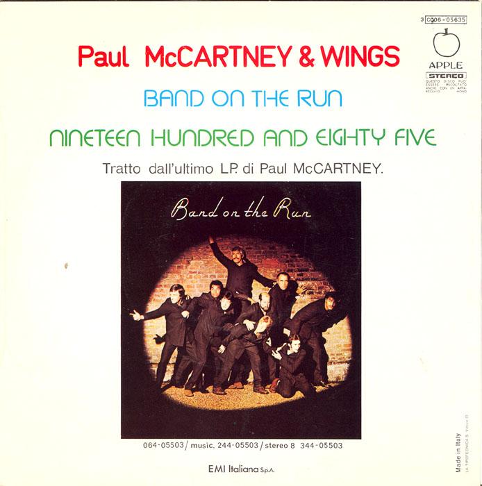 Paul McCartney – Nineteen Hundred andEighty-Five