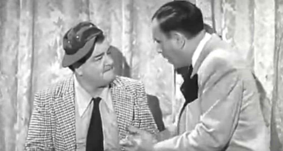 Abbott and Costello… Who's On First?