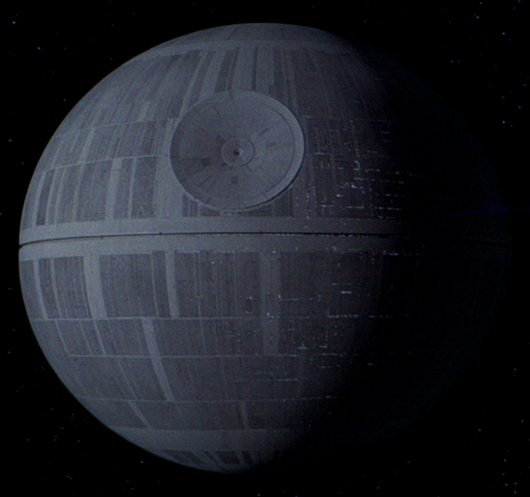 Where is…The original Death Star model from Star Wars now?