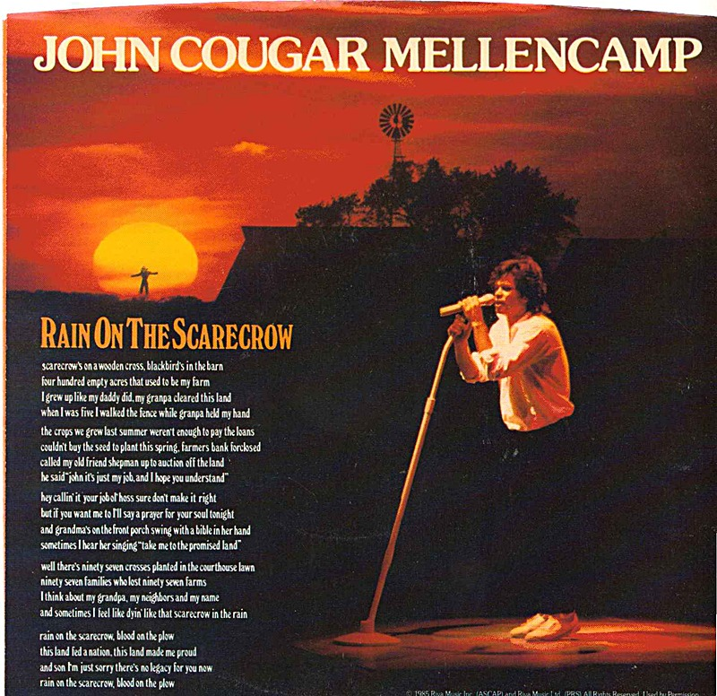 John Mellencamp – Rain On The Scarecrow